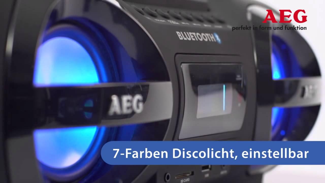 Аудиомагнитола AEG
