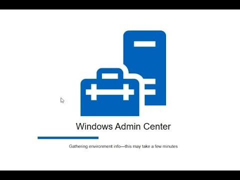 Installing Windows Admin Center