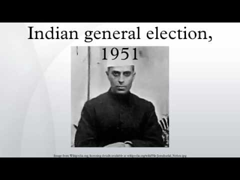 Indian general election, 1951