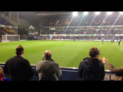 Ipswich 5-2 Sunderland, players entrance