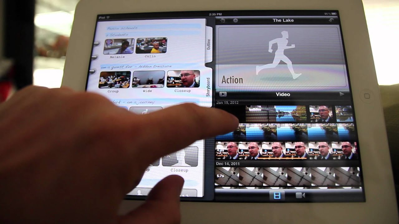 How to create trailers with iMovie on the iPad - YouTube