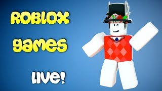 🔴Roblox Games Live With Fans!//Bee Swarm Sim//Flee The Facility//Magnet Sim//And More!