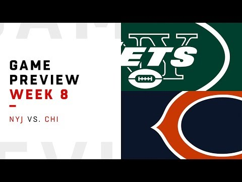 New York Jets vs. Chicago Bears | Week 8 Game Preview | NFL Playbook