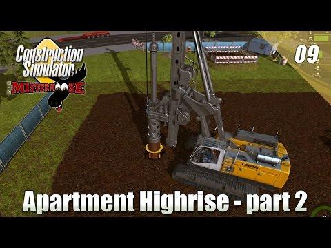 Construction Simulator 2015 - Apartment Highrise Part 2
