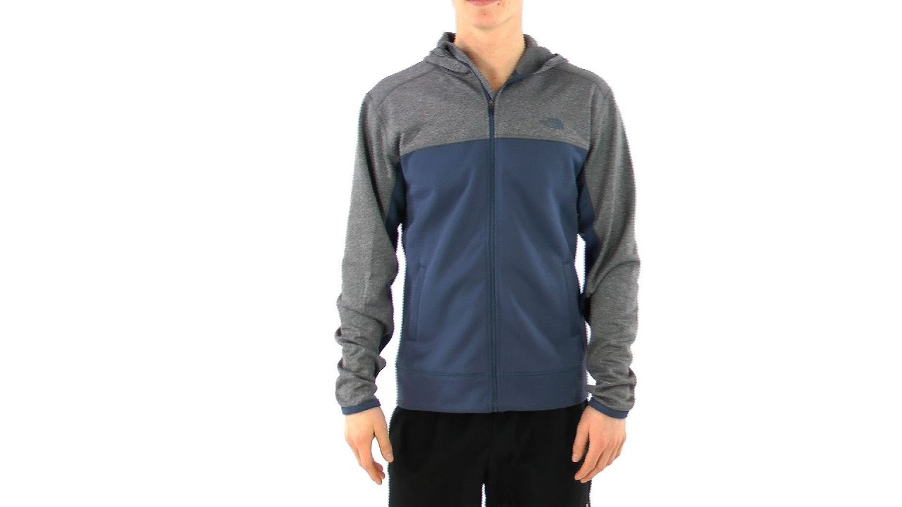 ff5caf0ac The North Face Men's Surgent Full Zip Hoodie | SwimOutlet.com