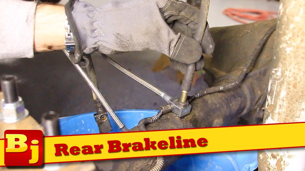 How To Install Rear Brakelines Rough Country Youtube 92 Suzuki Samurai Wiring Harness