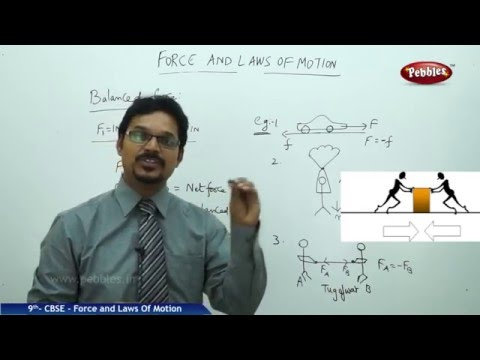 NCERT | CBSE Syllabus | Class 9th Science-Physics | Force & Laws of Motion | Live Videos