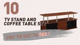 TV Stand And Coffee Table Set // New & Popular 2017