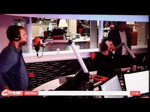 interview @ Q-Music Belgie met Que pasa uit Boekel live op tv en radio en internet.