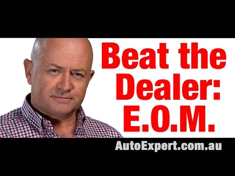 How to Beat a Car Dealer at the End of the Month Auto Expert John Cadogan Australia