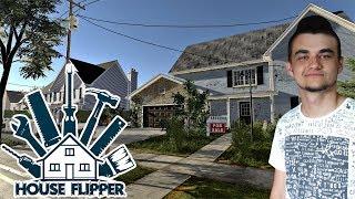 """HOUSE FLIPPER #1 """"Murarz, tynkarz, akrobata"""" czyli jak zostać mistrzem wykończeniówki ️! :D"""