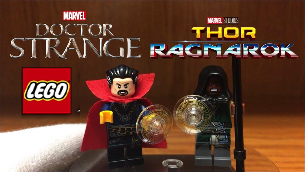 LEGO Infinity War Dr Doctor Strange Minifigure 76108 Mini Fig Avengers