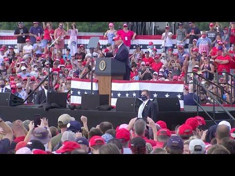 T13 en Washington: COVID-19 marca la elección entre Donald Trump y Joe Biden