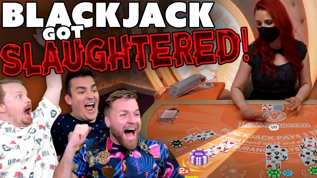 Blackjack Gets BLOODY... (for the casino)