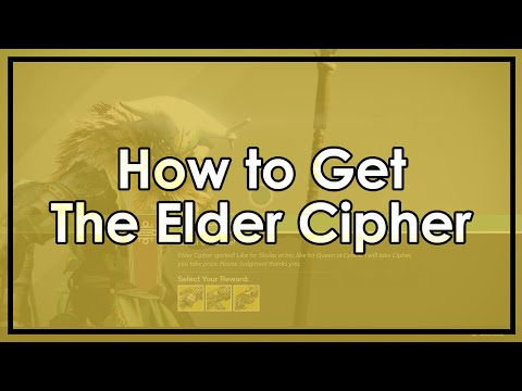 Destiny: The Elder Cipher - How to Get Queenbreakers' Bow, Dreg's Promise and Lord of Wolves