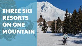 Bulgaria Skiing - Mt. Hood - three ski resorts on one mountain