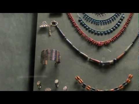 3000 year old jewellery in the Egyptian section of the Louvre