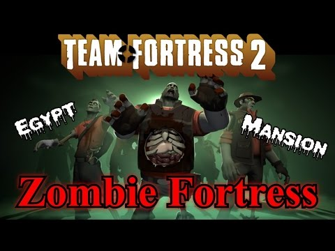 TF2 Zombie Fortress - Egypt Mansion [TF2 Mod]
