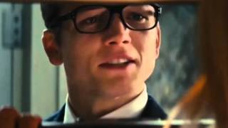 Eggsy and the imprisoned Princess of Sweden.