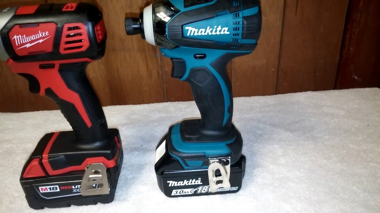 Milwaukee M18 2656 Vs Makita 18v Xtd04 Impact Lug Nut Challenge You
