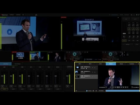 Getting Started with Livestream Studio Software