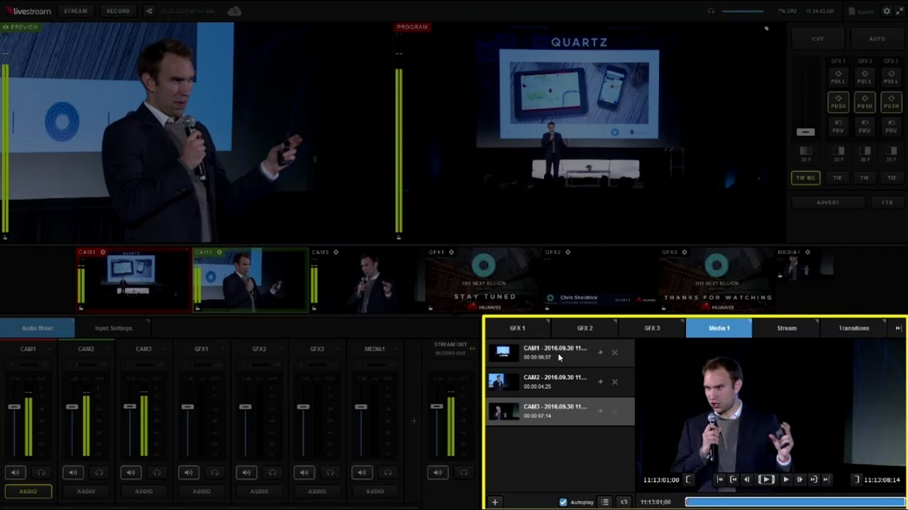 Livestream studio hd500