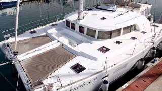 Lagoon 440 2009 owner layout - for sale by Tashoot Yacht Brokerage