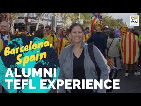Teaching English in Barcelona Spain #2 - TEFL Experience