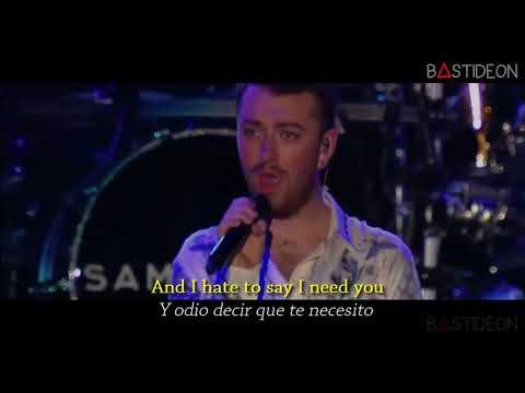 Sam Smith - Not In That Way / Can't Help Falling In Love (Sub Español + Lyrics)