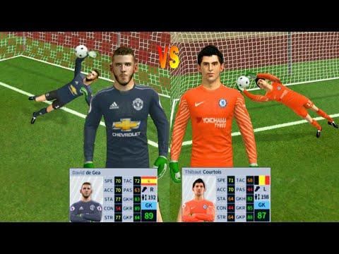 David de Gea VS Thibaut Courtois ● Penalty Shootout ● Dream League Soccer 2018