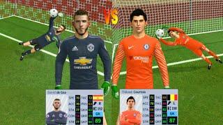 David de Gea VS Thibaut Courtois ● Penalty Shootout ● Dream League Soccer 2019