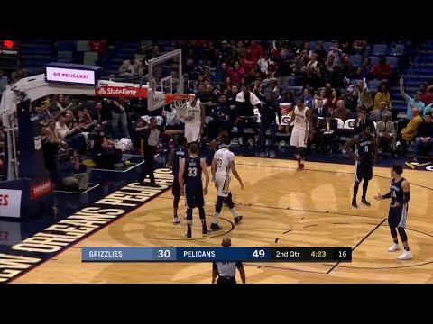2nd Quarter, One Box Video: New Orleans Pelicans vs. Memphis Grizzlies