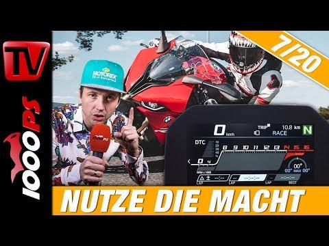 Moderne Fahrhilfen am Motorrad aktiv für mehr Sicherheit nutzen - Motorradfahren lernen 7/20
