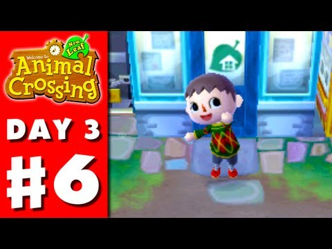 Animal Crossing: New Leaf - Part 6 - Down Payment (Nintendo 3DS Gameplay Walkthrough Day 3)