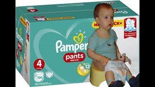 Обзор Подгузники-трусики Pampers Pants Размер 4 (Maxi) 9-15 кг из Rozetka