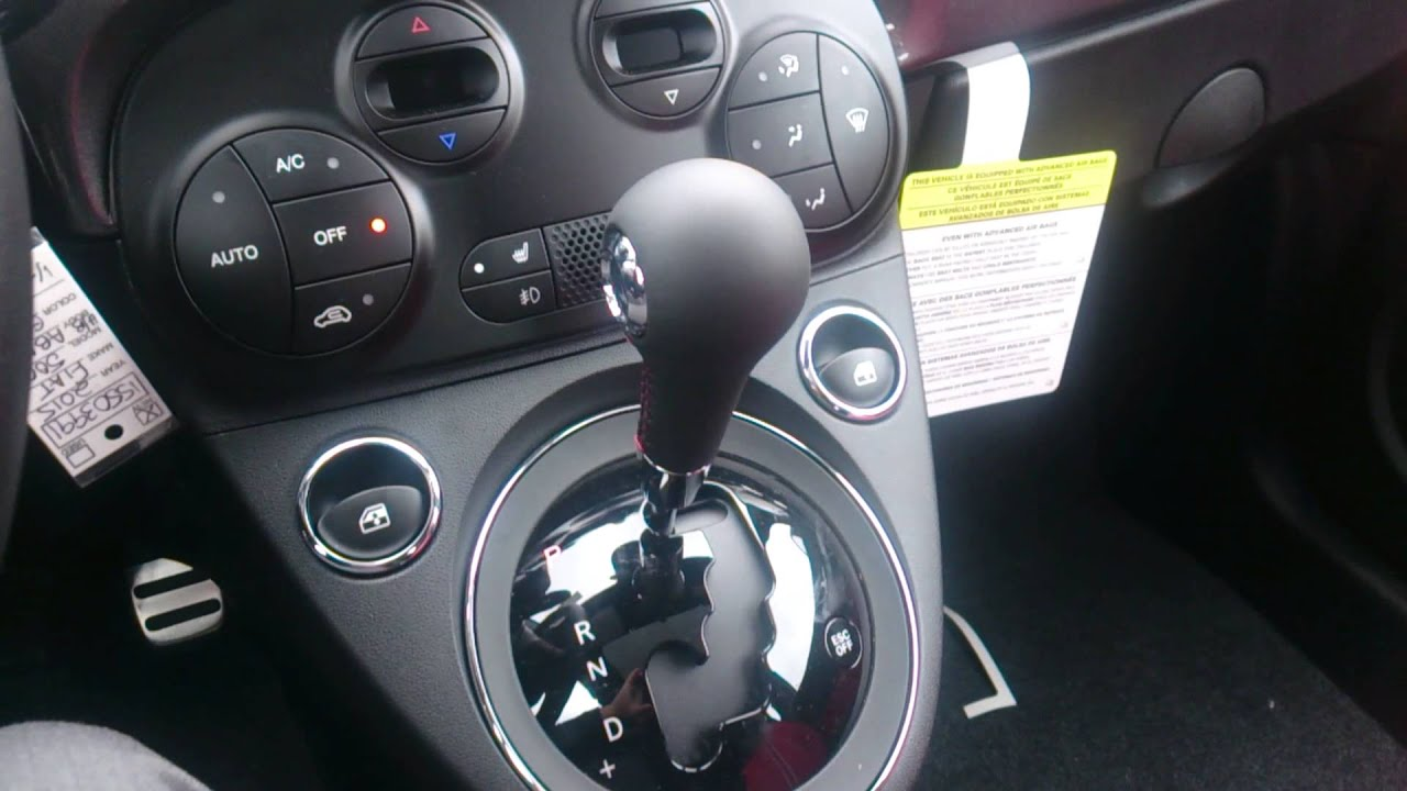 2015 fiat abarth automatic transmission - youtube