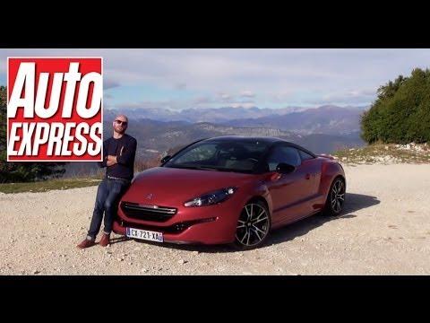 peugeot rcz r review - auto express - youtube