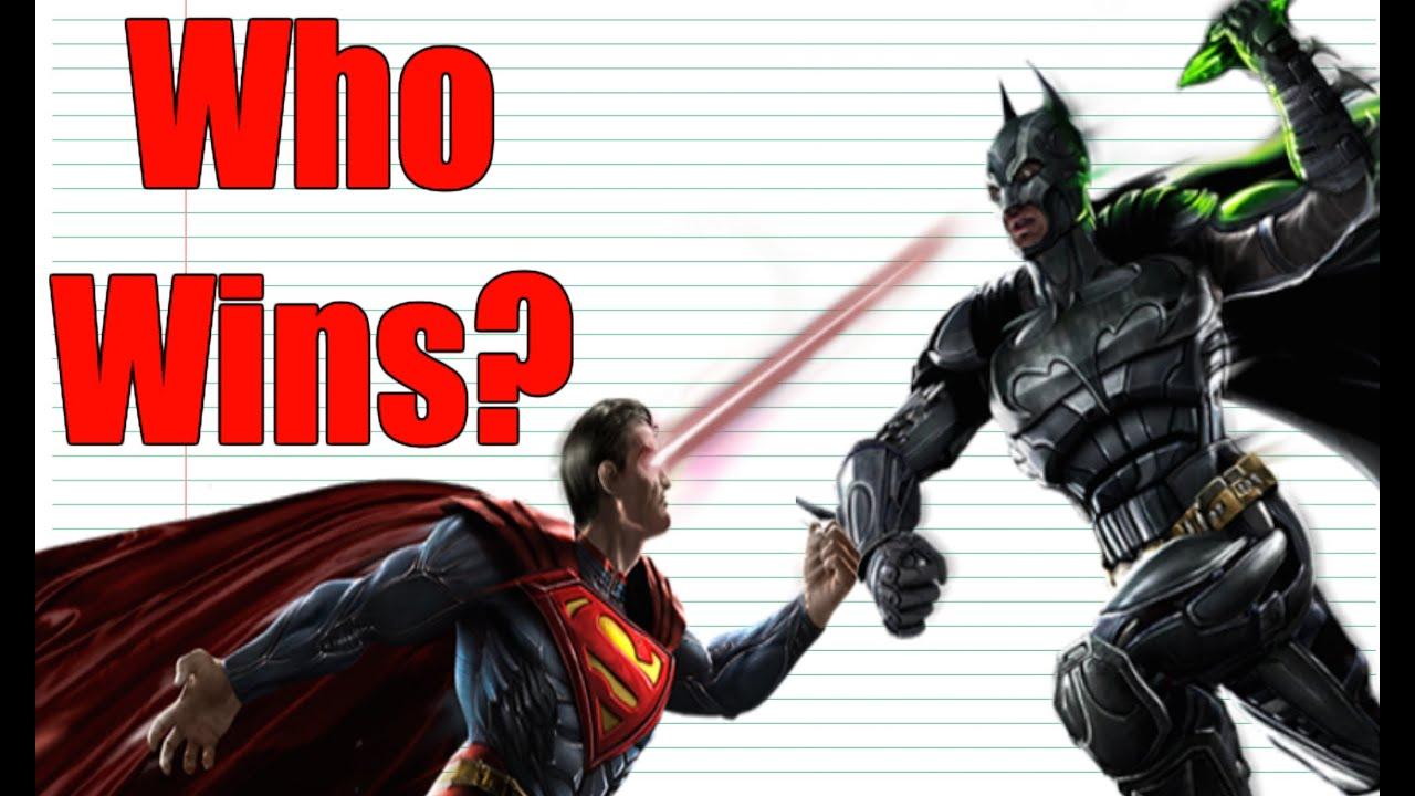 EVERY Batman VS Superman Fight EVER!