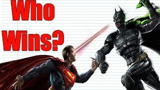EVERY Batman VS Superman Fight EVER!