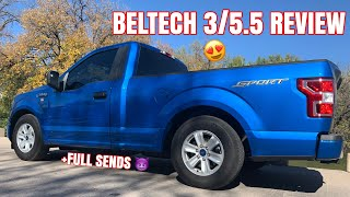 SUPERCHARGED F-150 GETS BELTECH  3/5.5 DROP KIT (15-20) + REVIEW