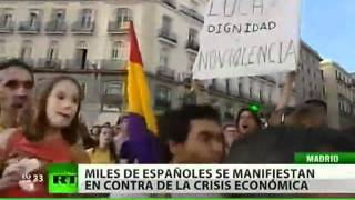 Madrid, capital de los indignados