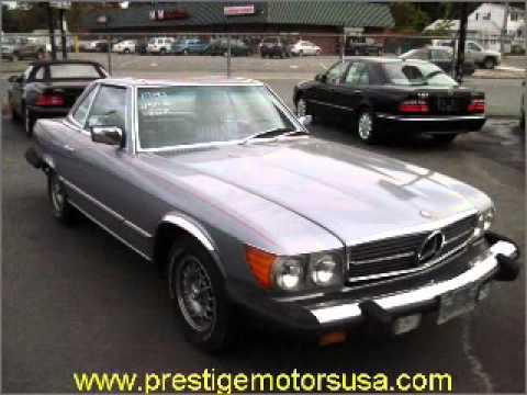 1980 Mercedes-Benz SL-Class - Malden MA - YouTube
