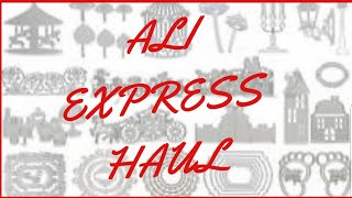 Ali Express Haul. Crafting on a Budget. #aliexpress