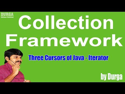 Three Cursors of Java - Iterator  (Collection Framework)