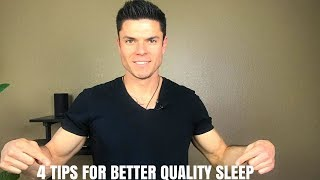 Improve Your Quality of Sleep with These 4 Tips - Ryan Pineda