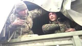 Часть 5   В городе Ровеньки, Луганской обл  было задержано 3 Камаза с военными и оружием  13 04 2014(13.04.2014 При въезде в город Ровеньки, Луганской области была задержана колона из 3-х военный камазов, Местными..., 2014-04-13T19:53:33.000Z)