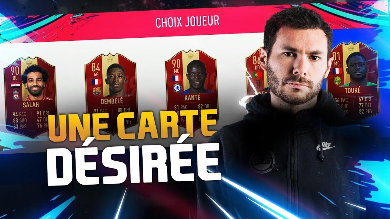PACKS FUT CHAMPIONS - UNE CARTE DÉSIRÉE !