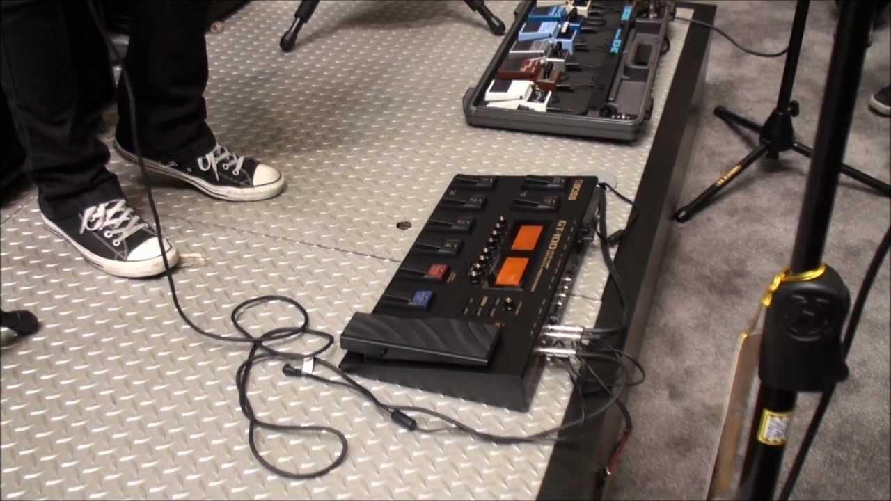 Boss GT100 Guitar Multi Effects Processor Pedal