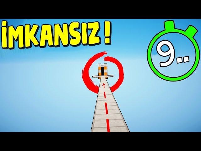 9 SANİYEDE BİTİREBİLİR MİSİN? (Minecraft)