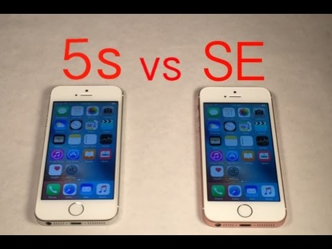 iphone 5s vs se performance
